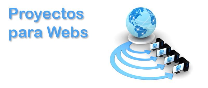 Proyectos para Webs